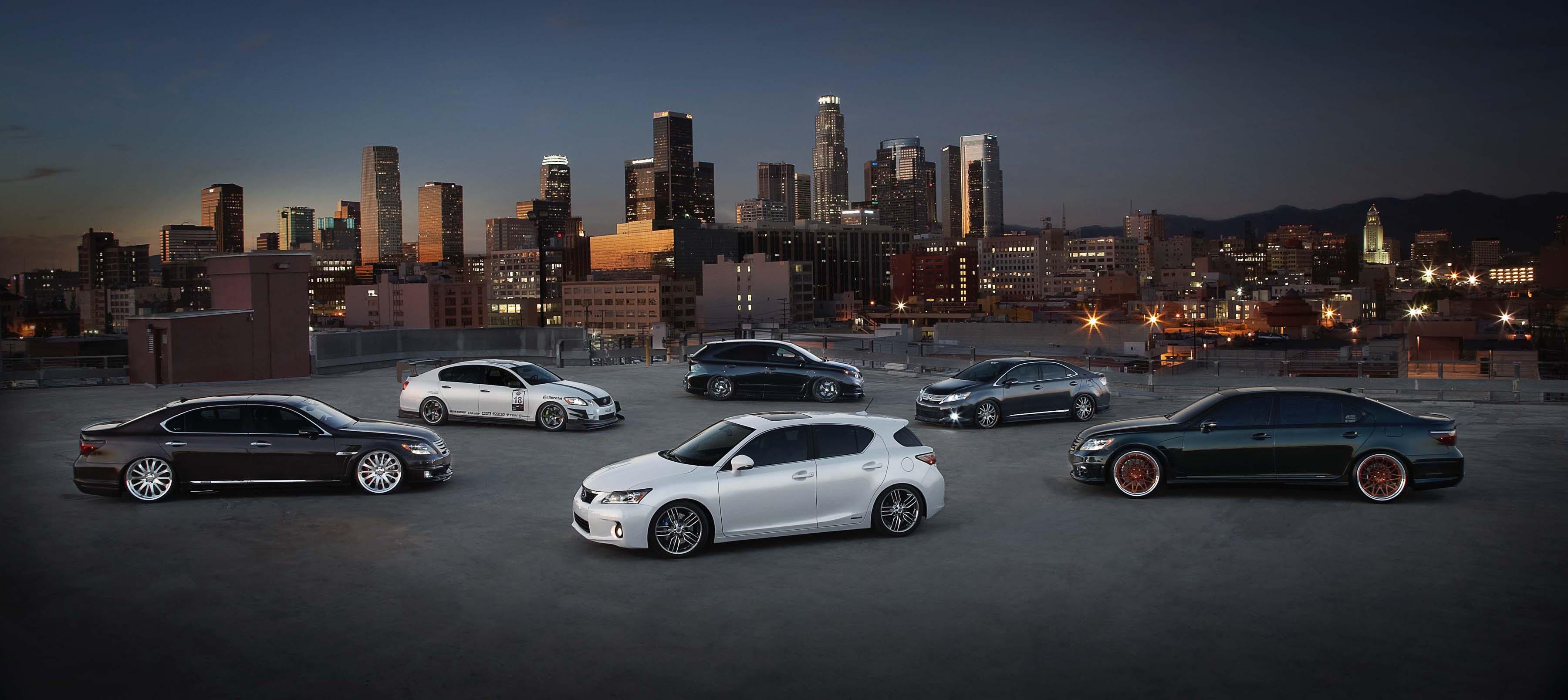 Lexus going big @ SEMA SHOW 2010. 6 Hybrids, CT F-Sport & LFA