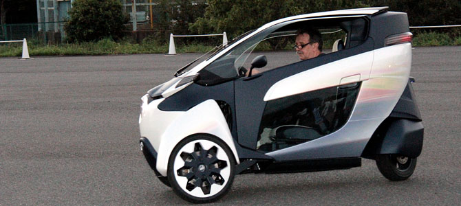 The lean-machine: We drive the Toyota i-ROAD