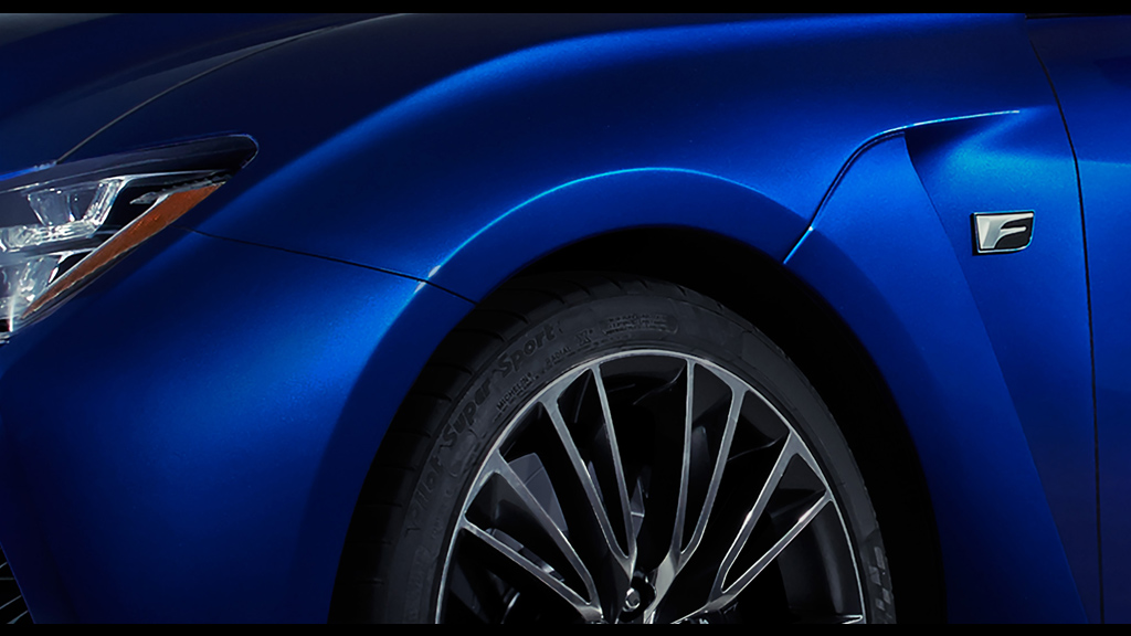 A New Lexus F Will Debut In Motown!