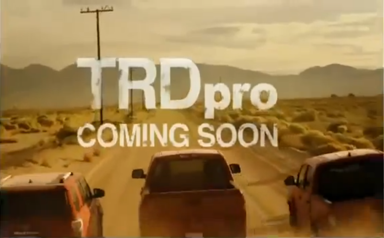 TRD Pro Launching in Chicago February 6