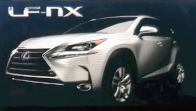 Lexus NX Leaked By Accident