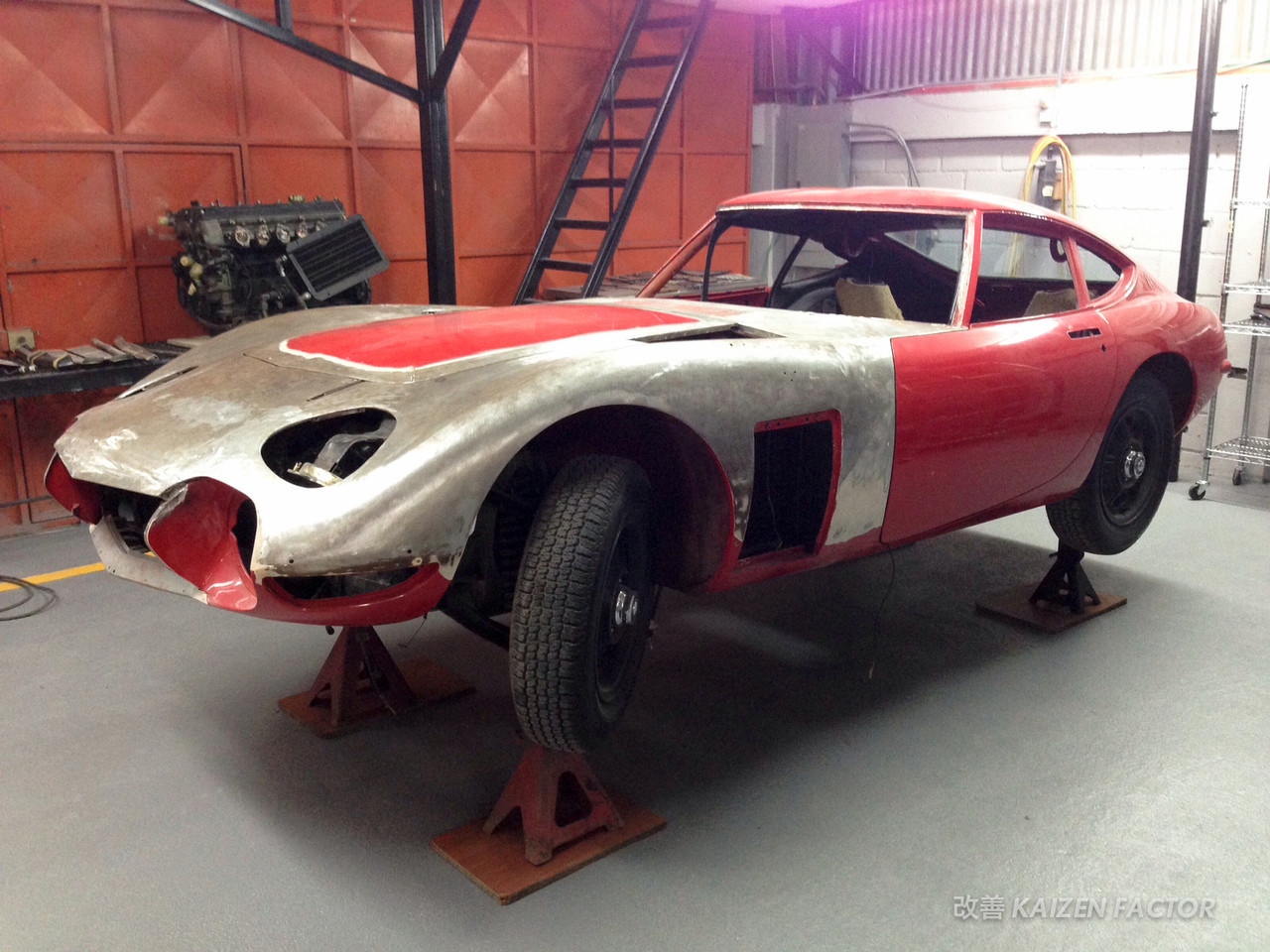 The Ultimate Toyota Restoration: 2000GT
