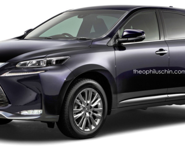Is the 4th-gen Lexus RX simply the latest Harrier with a Lexus spindle grille? NO!!!