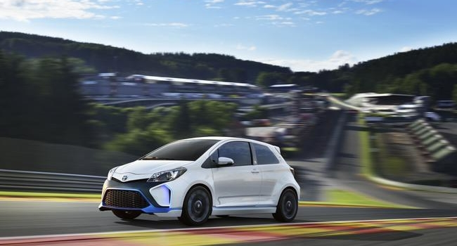 New Toyota Hot Hatch: Yaris Hybrid R Concept