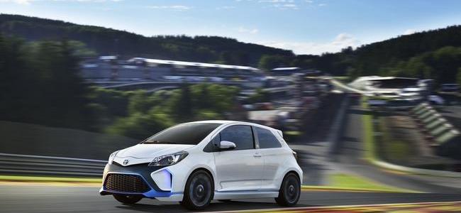 New Toyota Hot Hatch: Yaris Hybrid R Concept