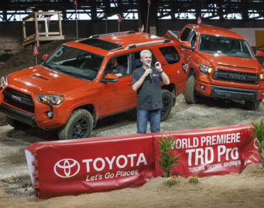TRD Pro Series Debuts In Chicago