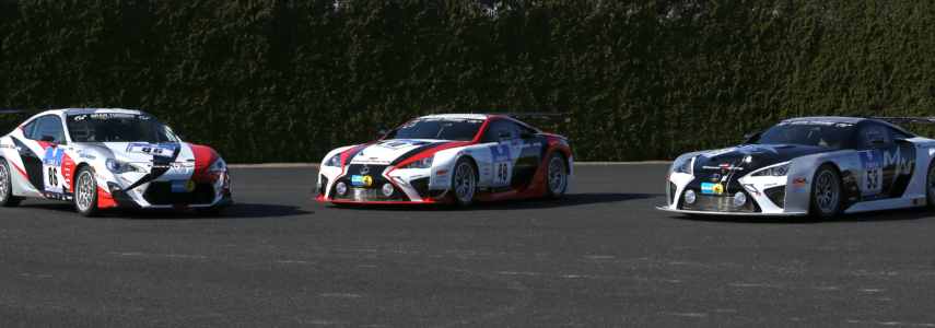 "GAZOO Racing To Race LFA, 86 and Special ""LFA Code X"" in Nür 24"