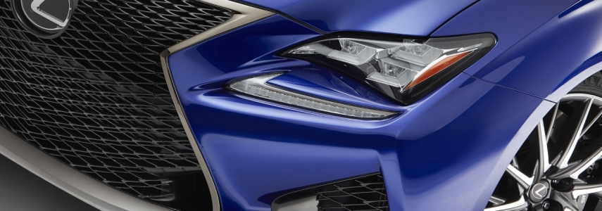 Lexus RC F Packed With Interesting Tech
