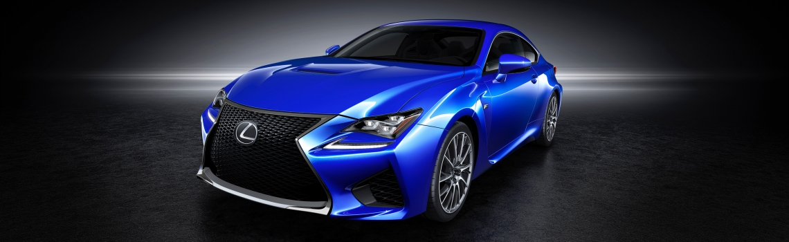 2015 Lexus RC F is ready for Detroit
