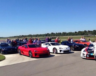 VIDEO: Lexus LFA Owners Event In New Orleans