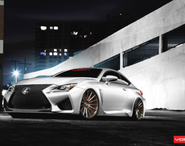 EXCLUSIVE: Lexus RC F on 15-Spoke Vossen Wheels
