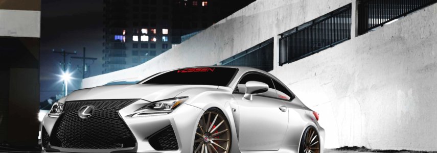 EXCLUSIVE: Lexus RC F on 15-Spoke Vossen Wheels