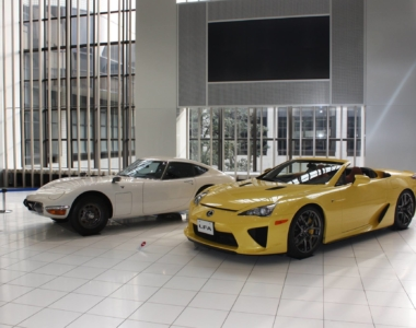 Lexus LFA Spyder in Pearl Yellow