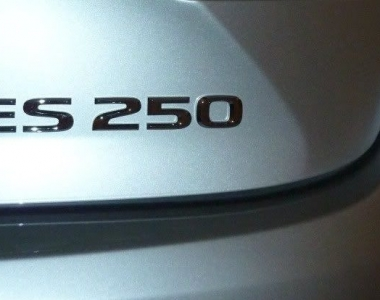 A North American return of the Lexus ES 250? The trademark tea leaves say yes.
