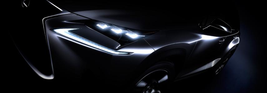 Lexus NX Coming to Beijing April 20