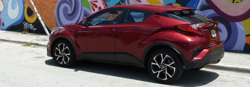 Toyota C-HR: Scion's last idiosyncratic hurrah