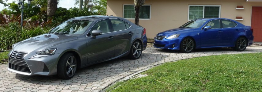 GSE21 to GSE31: The evolution of the Lexus IS 350