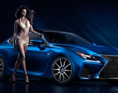 Lexus Redefines Sexy: RC F & SI Swimsuit Issue