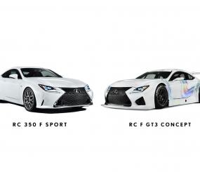 Geneva: 2015 RC F SPORT & RC F GT3 Concept Announced