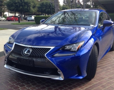 Spotted: Mystery Lexus RC 350 in Ultrasonic Blue!?