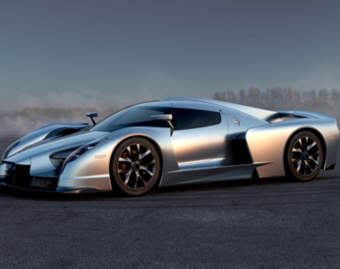 Will the SCG003 supercar offer the Lexus LFA V10 as an option?