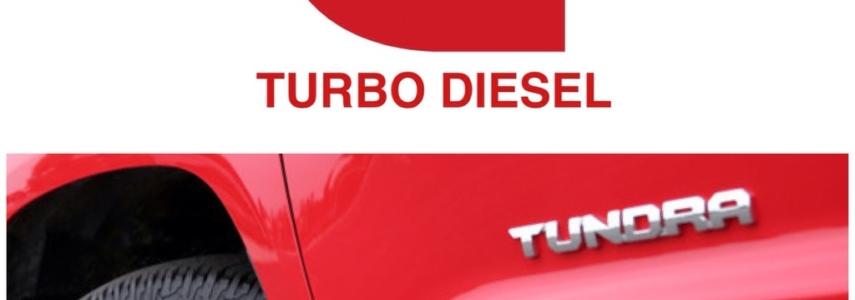 2016 Toyota Tundra: Cummins Turbo Diesel