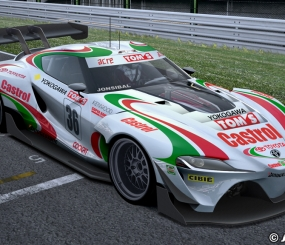 Toyota FT-1 Race Car By Jonsibal